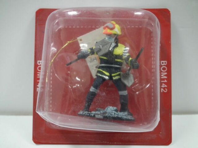 Montreal fire dress Canada Del Prado 1//32 Figure Fireman 2003 BOM022