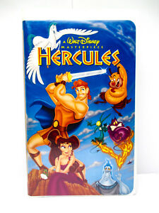 Details About Hercules Vhs Walt Disney Movie Masterpiece Collection 1998 Tested