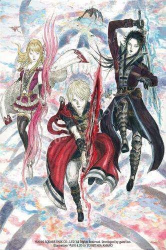 RGC Huge Poster Final Fantasy Brave Exvius Glossy Finish NVG210