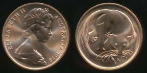 Australia-1975-One-Cent-1c-Elizabeth-II-Uncirculated