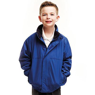 Regatta Professional Kid/'s Childrens Dover Jacket TRW418 Waterproof Lined Coat