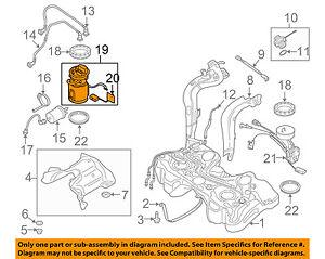 AUDI OEM 11-15 TT Quattro-Fuel Pump 8J0919051F | eBay | Audi Fuel Pump Diagram |  | eBay