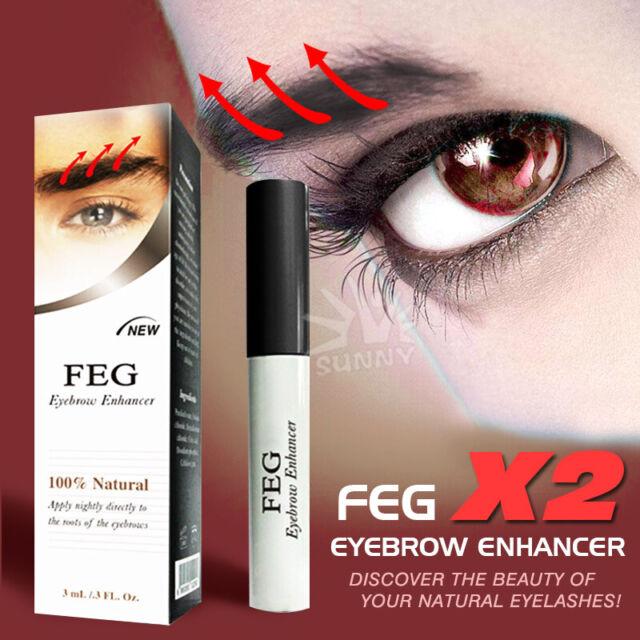 Genuine FEG natural Eyebrow Enhancer Serum eyelash growth booster eyebrow lash
