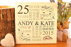 personalised-unique-anniversary-wedding-plaque-sign-gift-present-ANY-ANNIVERSARY