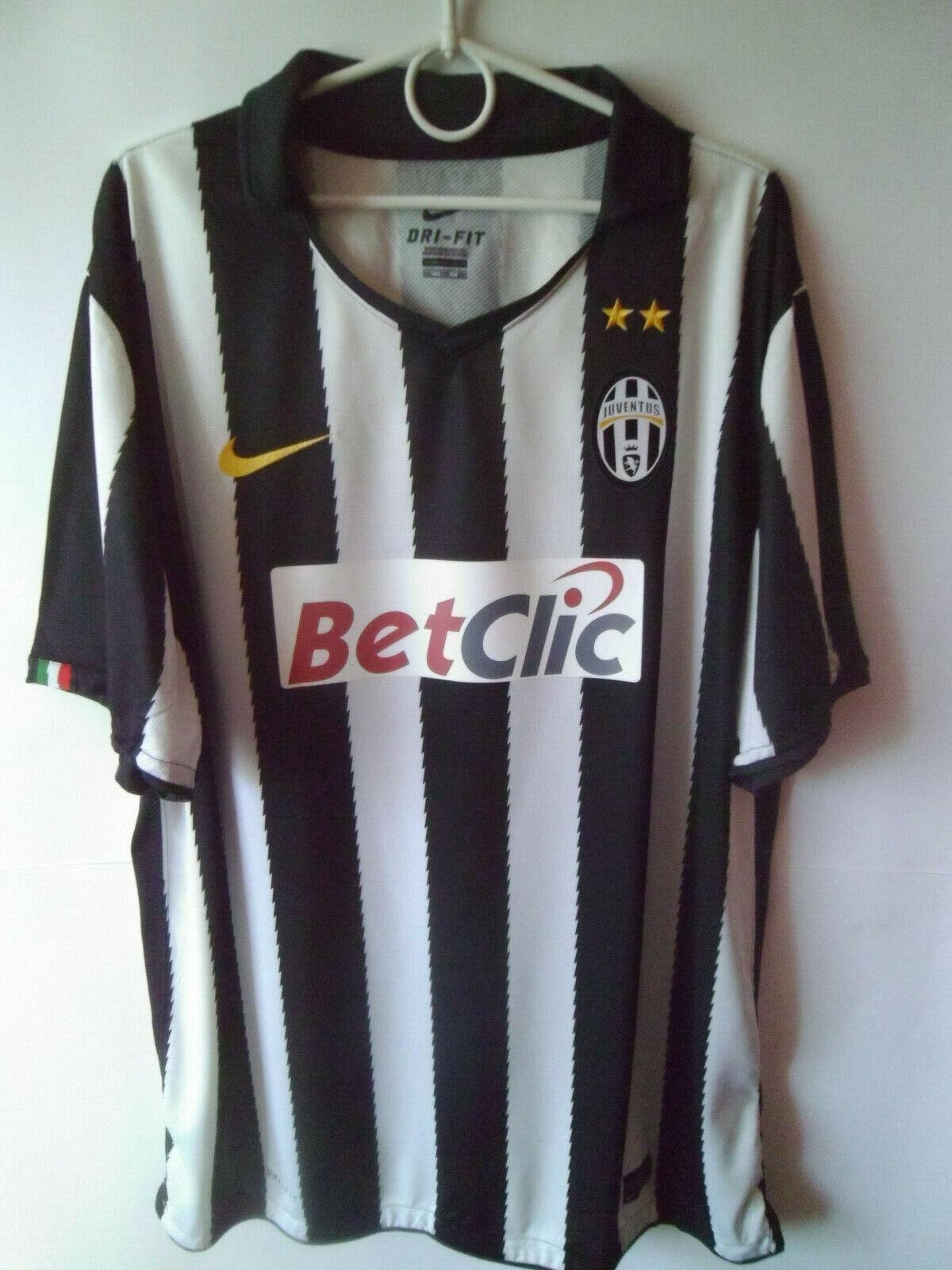 2010-11 Juventus Home Shirt Jersey XXL 2XL