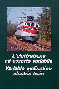 Variable-Inclination-Electric-Train-Fiat-Brochure-19-pages-plus-foldout