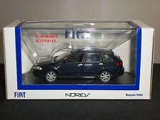 NOREV 771048 FIAT CROMA BLU METALLICO pressofusione modello auto