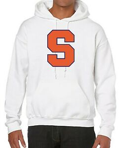 Details About Ncaa Basketball Team Hoodie Sweater With Syracuse Logo Comfort Hoodie