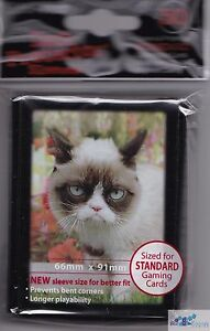 ultra pro grumpy cat flowers deck protector card sleeves mtg pokemon