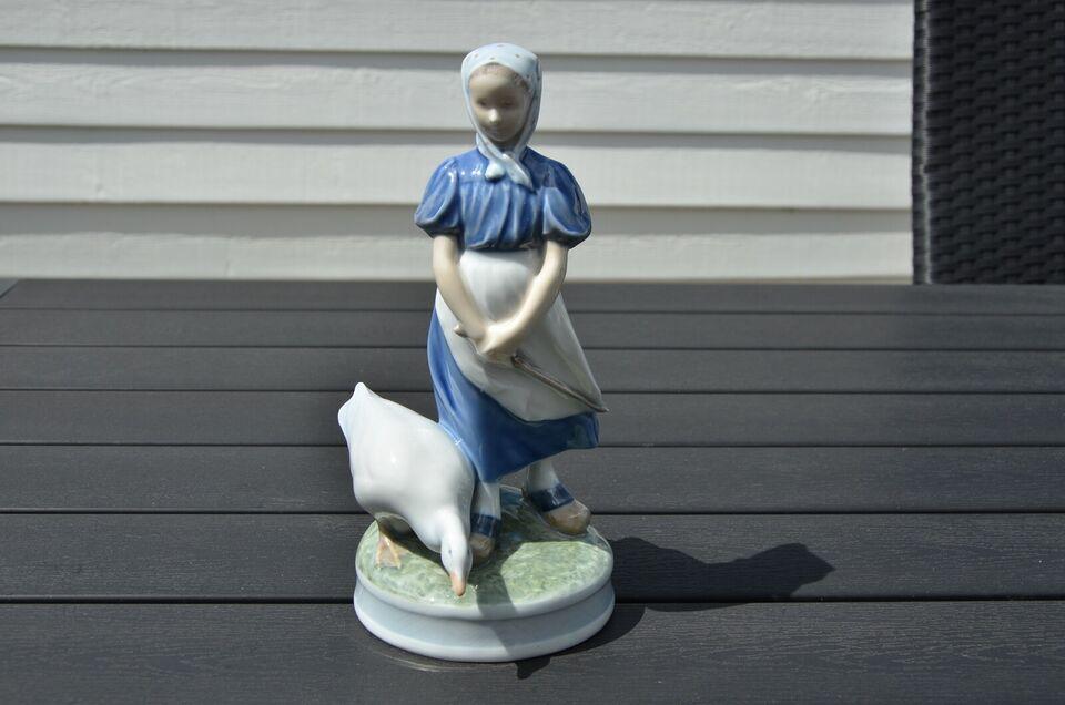Porcelæn, Gåsse pige, Royal Copenhagen