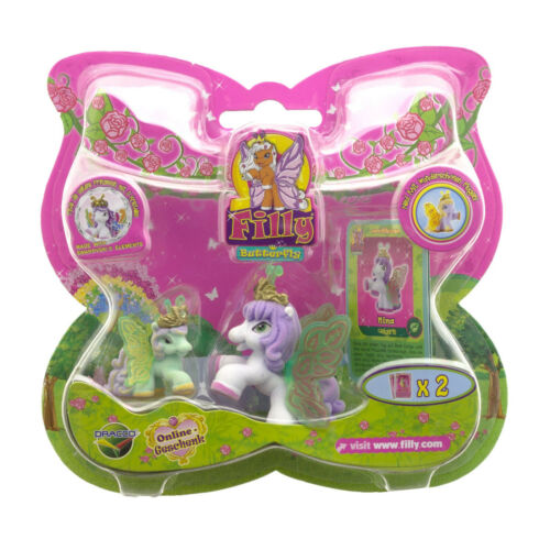 2 billets Childs Girls Collection Jouet Jeu Cadeau Filly Butterfly Set 2 Pieces