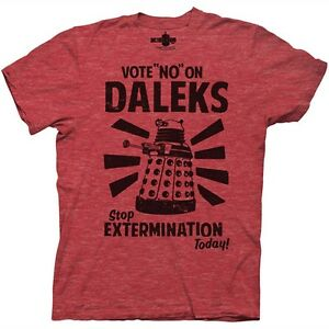 Doctor-Who-Vote-No-On-Daleks-T-Shirt
