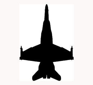 F-A-18-Hornet-Sticker-Jet-Plane-Window-Vinyl-Decal-Pilot-Fly-Aircraft-Airplane
