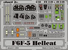Eduard Zoom FE249 Hasegawa 1/48 F5F-5 Hellcat,