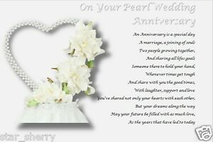 Pearl Wedding Gifts For Husband : ... Garden > Greeting Cards & Party Supply > Other Gift & Party...