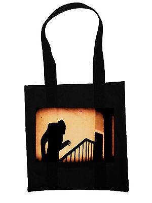 Nosferatu Eco Shopper Tote Bag Goth Vampires Horror