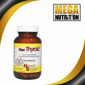 Natural-Sources-Raw-Thyroid-60-Capsules-Supplement-Glandular-Concentrate