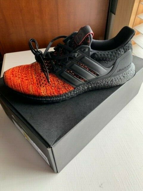 New In the Box Adidas Game of Thrones GOT House of Targaryen size 11.5 orange