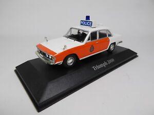 TRIUMPH-2000-UK-Voiture-police-anglaise-1-43-ATLAS-CORGI-DIECAST-MODEL-CAR-U20