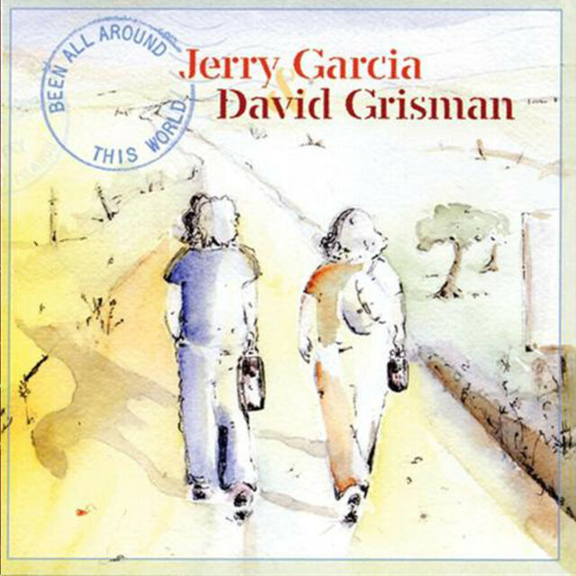 Jerry Garcia & David Grisman - Been All Around This World CD NEW Folk Rock Album