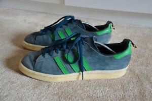 Details zu adidas Herren LEDER Sneakers Sport Freizeitschuhe Samba Turnschuhe Gr. 42 23