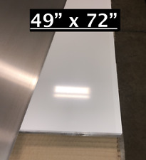 49 X 72 White Aluminum Sheet Flat 030 Thick Cargo Trailer Repair Etc
