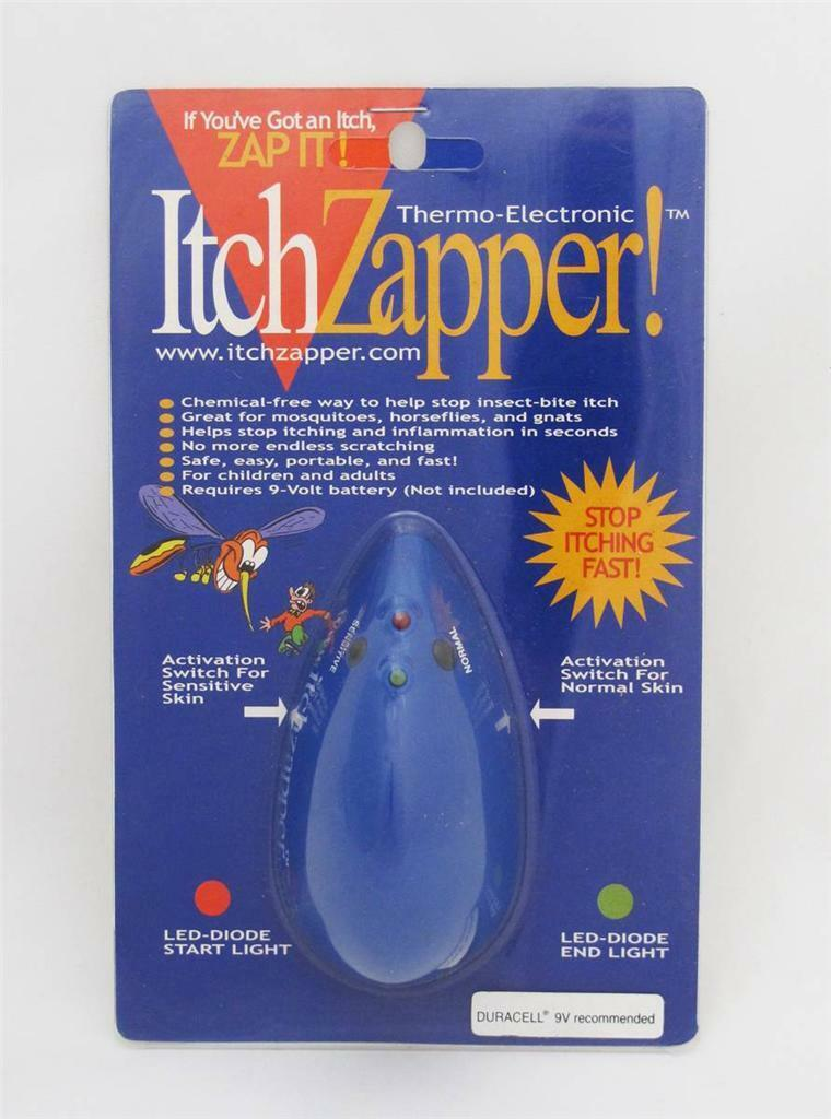 NEW ORIGINAL THERMAL ItchZapper ITCH ZAPPER MOSQUITO INSECT BITE RELIEVER  NIP