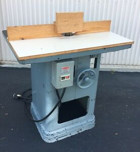 Details About Heavy Duty Delta Rockwell Shaper 220v 3 Phase Woodworking Machinery