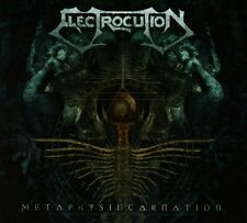Electrocution - Metaphysincarnation Digipak CD (Gorego, 2014)  *rare Death Metal