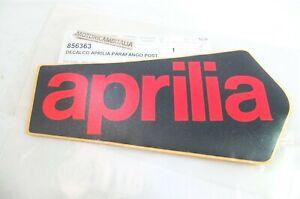 Aprilia SXV RXV 450 adesivo carrozzeria parafango posteriore emblema sticker