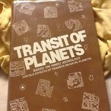 Transit of Planets, Hindu Astrology; HC 1993 2nd edition, by Chawdhri