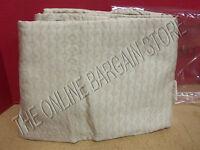 Frontgate European 100% Egyptian Cotton Bed Skirt Dust Ruffle Latte Tan Cal King