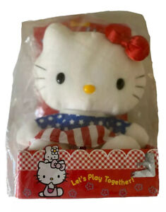 Sanrio Plush 2002 Hello Kitty Kind And Pretty Lets Play Together Nearly Vintage