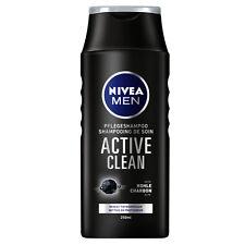 (9,96€/L) 250ml Nivea Men Active Clean Pflegeshampoo mit Activ Kohle Haarpflege