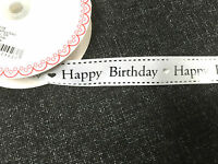 Special Happy 16th 18th 21st 30th 40th 50th 60th Birthday Ribbon 1 3 or 5 metres