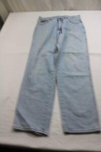 J8132 W32 L30 Jeans Ohio Wrangler Gut Hellblau xPqx0aw
