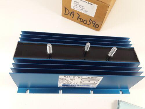 Dual Battery Isolator Sure Power Industries Inc 160Amp Negative Ground MARINE