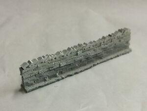Javis J156 2 x 15mm H x 77mm Long Roadside Grey Dry Stone Walling Resin 1st Post