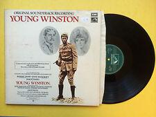 Young Winston - Original Soundtrack, EMI HMV CSDA-9002 Ex Condition Vinyl LP