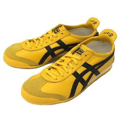 onitsuka tiger mexico 66 black and pink yellow zip toe