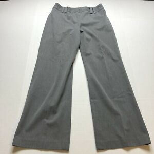 Loft-Ana-Gray-Trouser-Dress-Pants-Size-4P-A1811