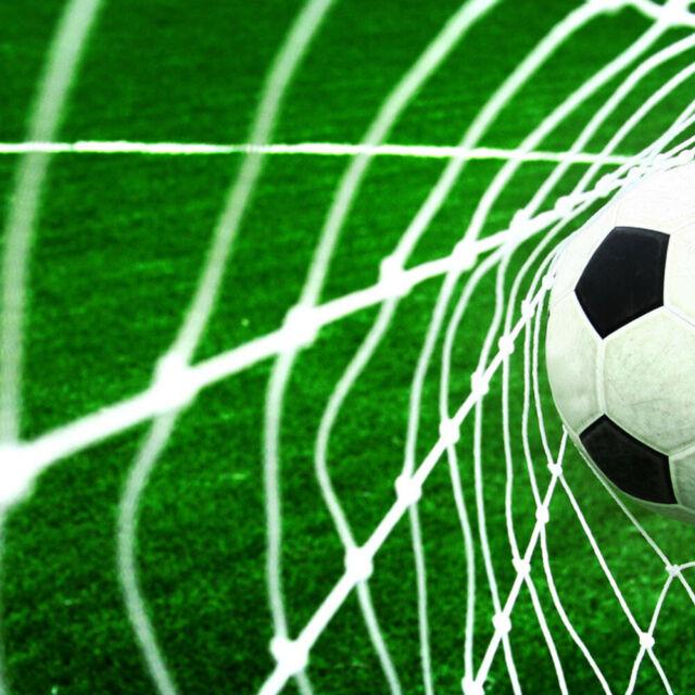 e6d7962af Football Soccer Full Size Straight Back Goal Replacement Netting Net 24FT X  8FT