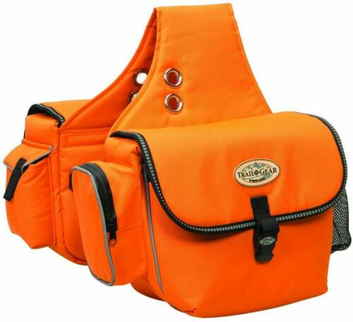 Weaver Leather Trail Gear Horse Equine Saddle Bag