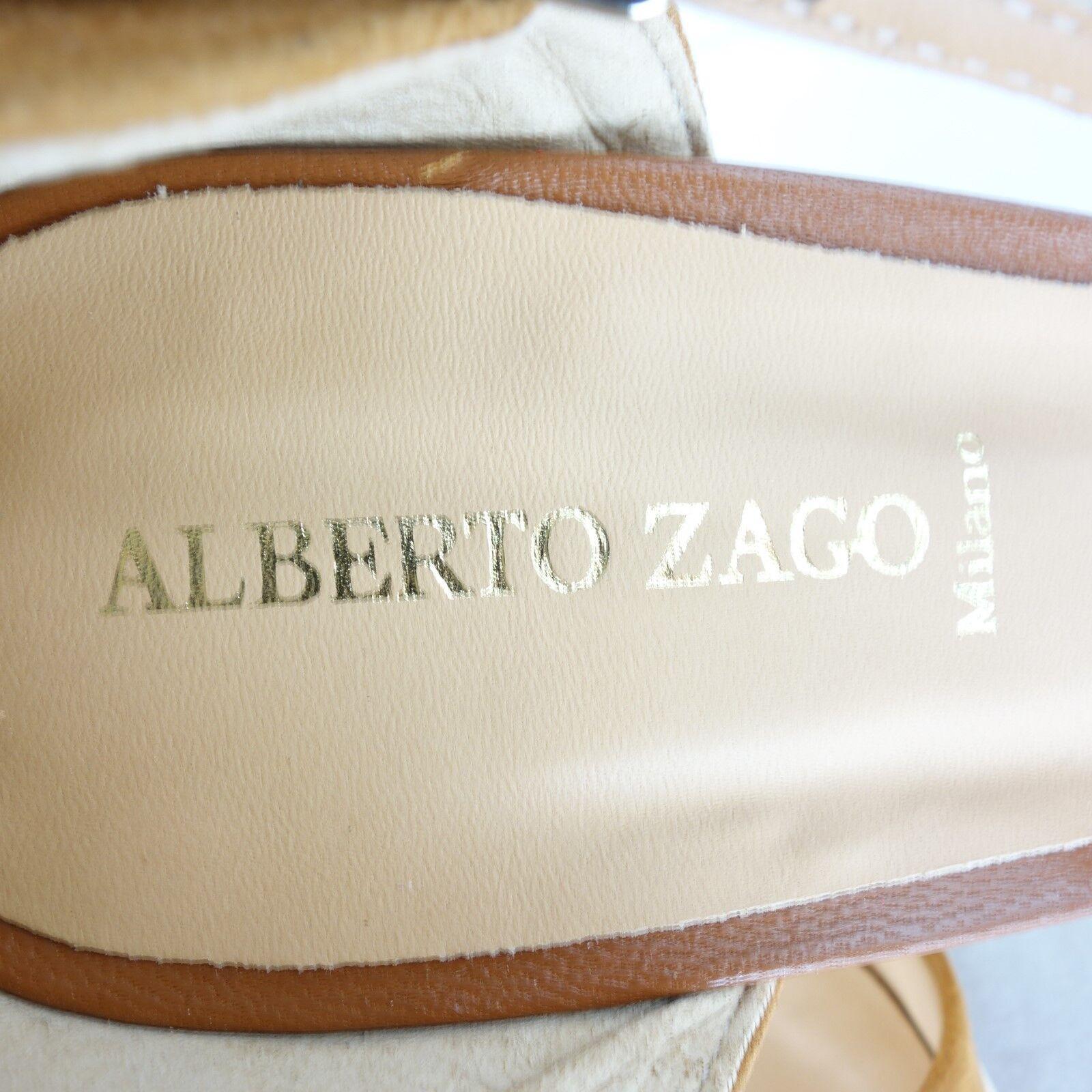 Alberto Zago Ladies shoes Sandals Court shoes Wedges Leather Multicolour Multicolour Multicolour Size 41 3c153e