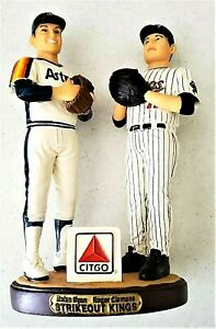 2005-034-Strikeout-King-034-Nolan-Ryan-and-Roger-Clemons-Houston-Astros-Figurine
