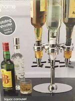 Jc Penny Home Collection Liquor Carousel Rotating Shooter 6 Bottles - Brand