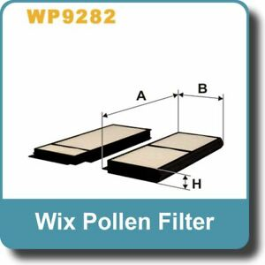 NEW Genuine WIX Replacement Pollen Filter WP9302