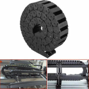 """R38 1000mm 40/"""" Length Cable Drag Chain Wire Carrier 15x30mm CNC Cord Protector"""