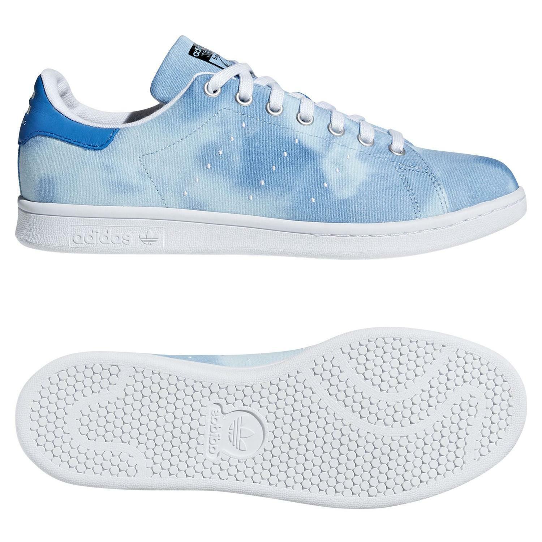 Adidas Original X Pharrell Williams Hu Stan Smith Turnschuhe Blau Schuhe Turnschuhe