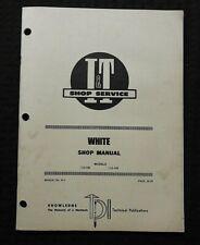 1978 Wfe White Farm Equipment 2 135 2 155 Tractor Iampt Shop Repair Manual